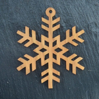 Christmas Ornament Snowflake 0