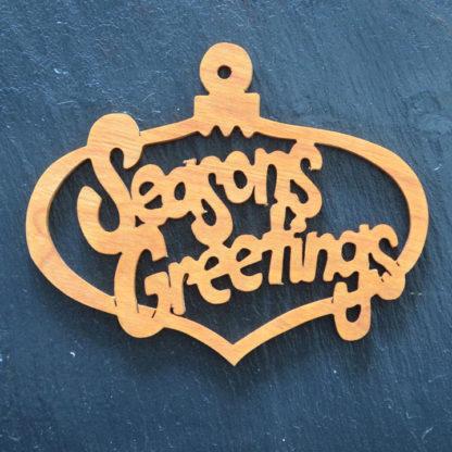 Christmas Ornament Seasons Greetings 011