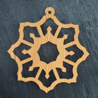 Christmas Ornament Snowflake 4 014