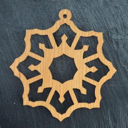 Christmas Ornament Snowflake 4 014