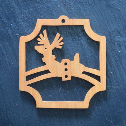 Christmas Ornament Reindeer 019
