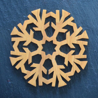 Christmas Ornament Snowflake 5 021