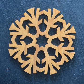 Christmas Ornament Snowflake 5 021