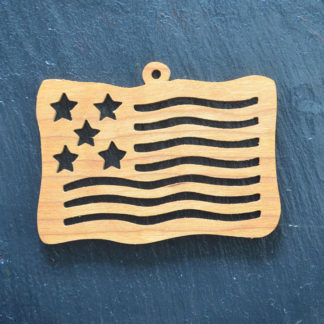 Christmas Ornament Flag 031