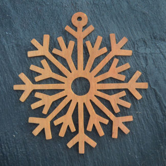 Christmas Ornament Snowflake 7 033