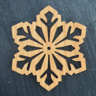 Christmas Ornament Snowflake 8 035