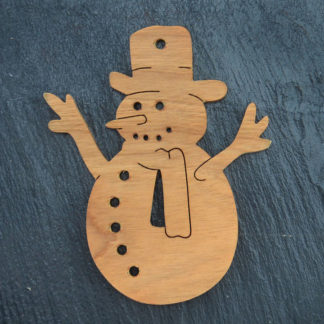 Christmas Ornament Snowman 3 057
