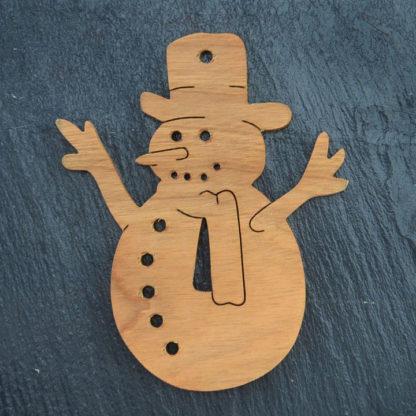 Christmas Ornament Snowman 3 057