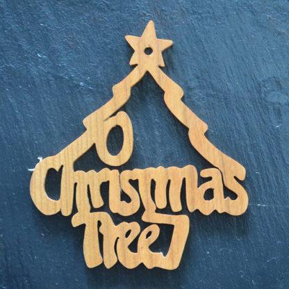Christmas Ornament O Christmas Tree 071