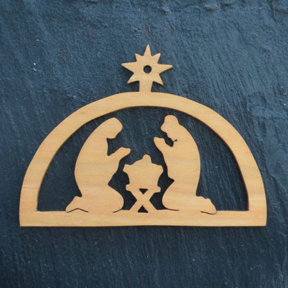 Christmas Ornament Nativity 094