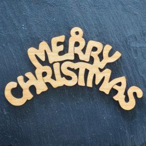 Christmas Ornament Merry Christmas 122