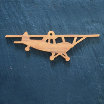 Christmas Ornament Airplane 127