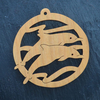 Christmas Ornament Dolphins 131