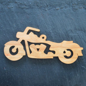 Christmas Ornament Motorcycle 139