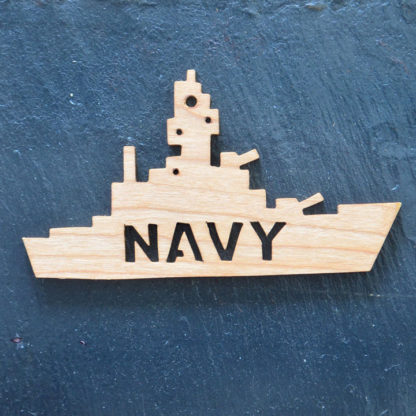 Christmas Ornament Navy 160