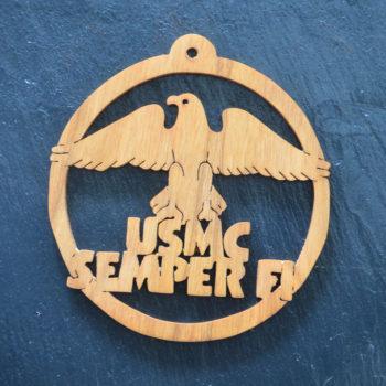 Christmas Ornament USMC 161