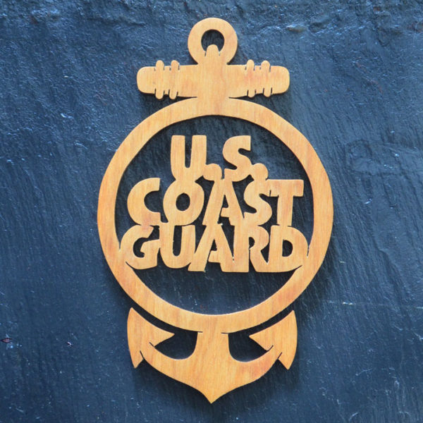 Christmas Ornament Coast Guard 162
