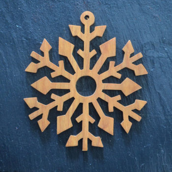 Christmas Ornament Snowflake 12 171