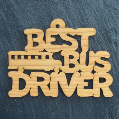 Christmas Ornament Best Bus Driver 190