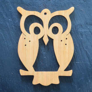 Christmas Ornament Owl 204