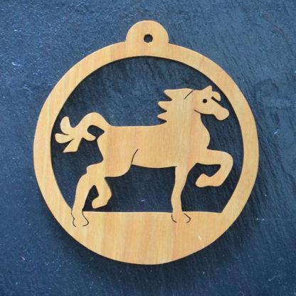 Christmas Ornament Horse 214