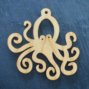 Christmas Ornament Octopus 219