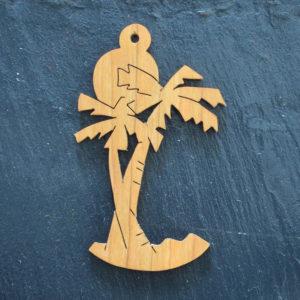 Christmas Ornament Palm Tree 219