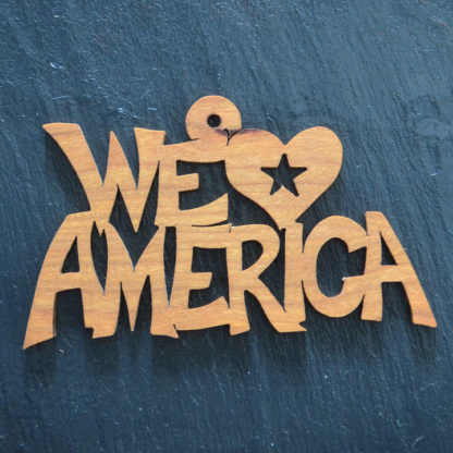 Christmas Ornament We Love America
