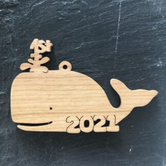 Christmas Ornament Baby's First Whale 268