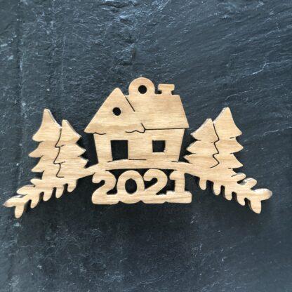 Christmas Ornament House Home 269