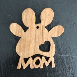 Paw Mom Ornament