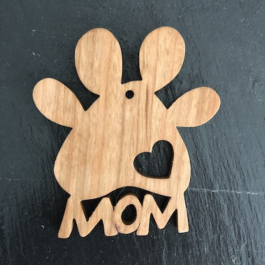 Paw Mom Ornament