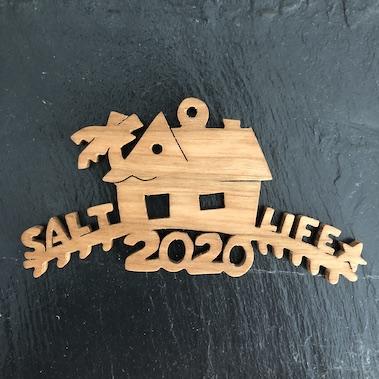 Salt Life House Ornament