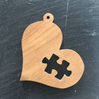Autism Awareness puzzle heart 298