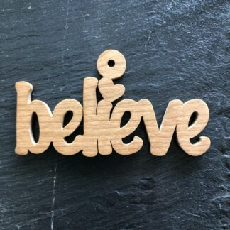Believe Christmas Ornament 301