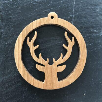 Deer Antlers Christmas Ornament 310