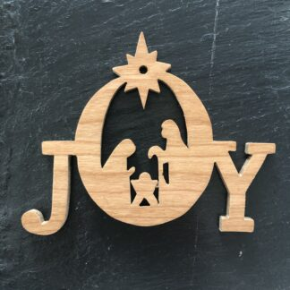 Joy Nativity Christmas Ornament 308
