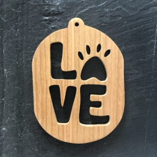Paw-Love Christmas Ornament 305