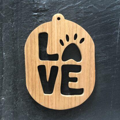 Paw-Love Christmas Ornament 305